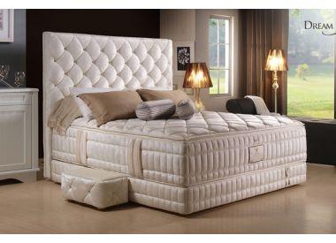 """Дизайнерская кровать с матрасом из 100% натурального латекса коллекция """"Dream Kingdom"""""""