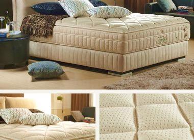 """Дизайнерская кровать с матрасом из 100% натурального латекса коллекция """"Togetha 100"""""""