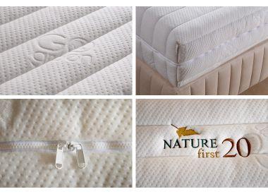 Матрас из 100% натурального латекса Nature First